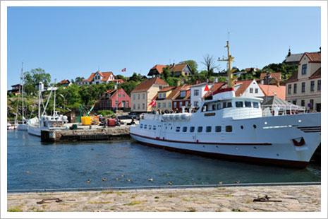 Det gode skob Ertholm sejler til Christiansø hver dag