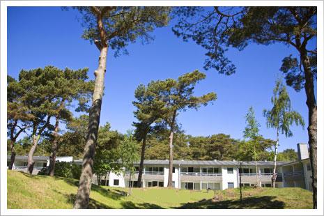 Dueodde Badehotel på Bornholm ligger smukt og uforstyrret på Dueodde