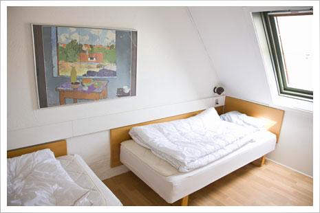 Soveværelser i Gudhjem Feriepark