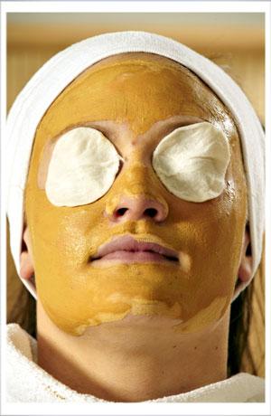 Få en maske på Hotel Griffen