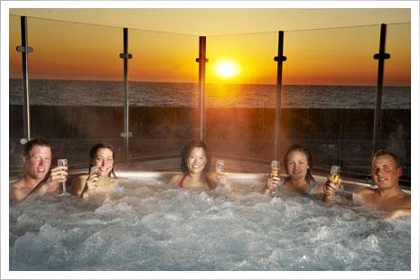 Sk�nt hotel i R�nne med flot spa- og wellnessomr�de