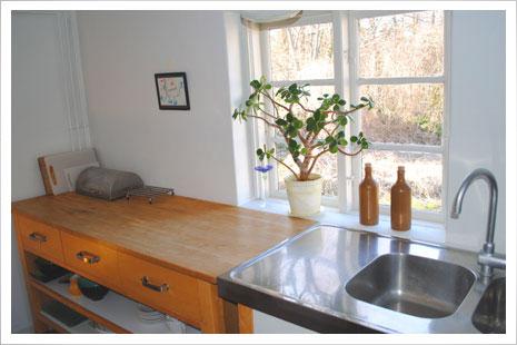 Køkkenet i Æblehuset