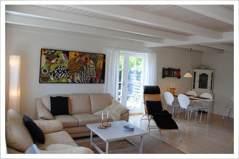Møllehuset (Das Mühlehaus) ist ein schönes Sommerhaus für 4 Personen.