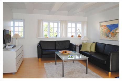 Lejlighed B på MølleGården er skønt indrettet for 2-4 personer.