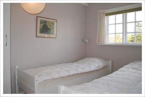 Soveværelset i lejlighed 4.