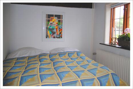 Soveværelset i stue-etagen.